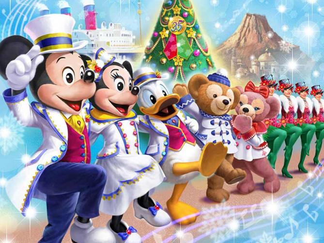 【最新】ディズニークリスマス2018お土産グッズ&ショーパレード情報!新ハーバーショー開催&抽選情報!