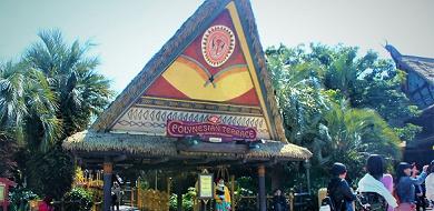 南国風料理が楽しめる!ポリネシアンテラス・レストラン