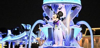 【ディズニーランド】ナイトパレード「ナイトフォール・グロウ」徹底解説!キャラクターやルートは?