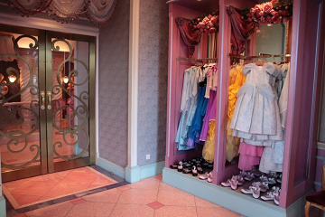 ビビディ・バビディ・ブティックでプリンセスに!予約方法や値段ドレスやコースの種類