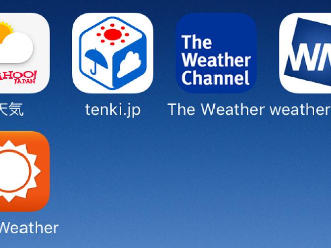 ディズニー・舞浜の天気予報おすすめサイト&アプリ5選!10日間・週間・長期予報や風も重要