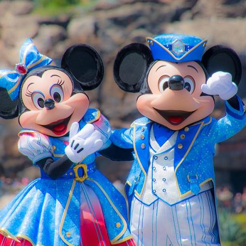 ディズニーキャラクターたちの身長、全力で調べてみた!ミッキーやミニーの身長はいくつ?
