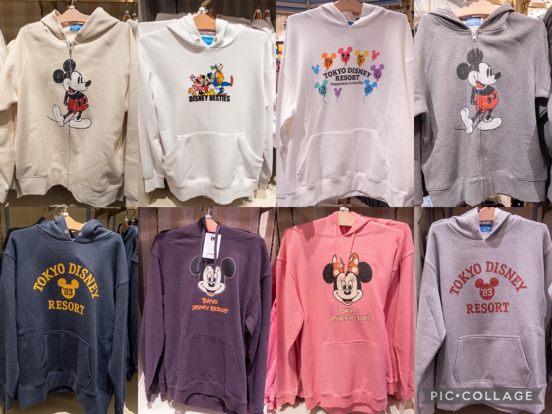 【2019】ディズニーのパーカー43選!ダッフィー&フレンズや、セーター、ジャケット、長袖シャツも