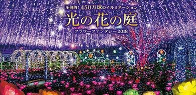 【2018-2019】あしかがフラワーパークのイルミネーションの料金&期間!アクセス方法&見どころ!