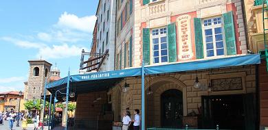 【カフェ・ポルトフィーノ】メニュー&場所は?ショーが観られるディズニーシーのレストラン