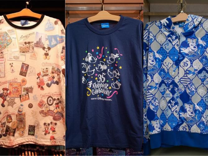 【2018】東京ディズニーリゾート35周年のTシャツ&パーカーまとめ!Happiest Celebration!