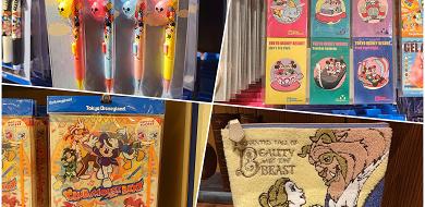 【ディズニー文房具】筆箱・シャーペン・ボールペンなど!ランド&シーで買えるお土産まとめ!