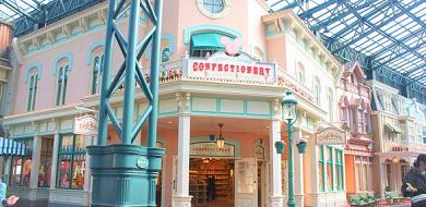 【ワールドバザール】アトラクション・レストラン・BGM&ショップ!ディズニーランドの玄関口