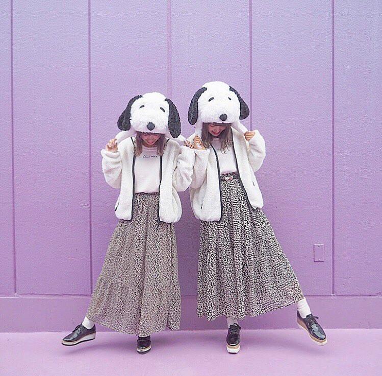 【ユニバ】冬のUSJにおすすめスヌーピーコーデ6選!カップル&友達のおそろコーデまとめ