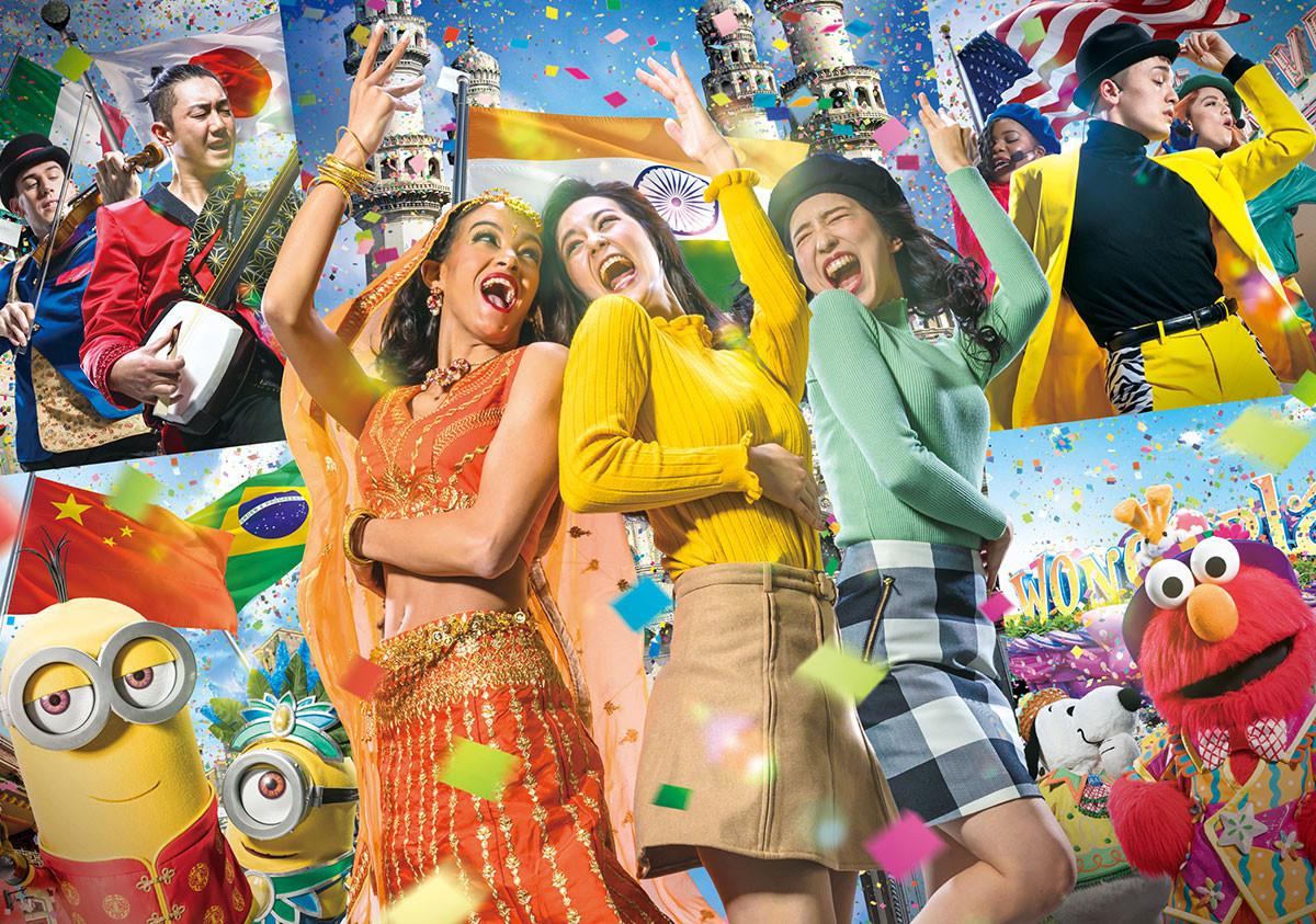 【USJ】ワールド・ストリート・フェスティバルまとめ!ミニオンやエルモの最新エンターテインメント