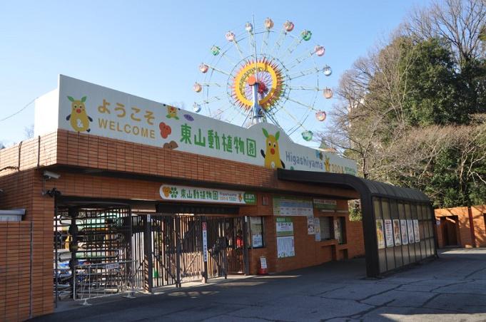 東山 動物園 駐 車場
