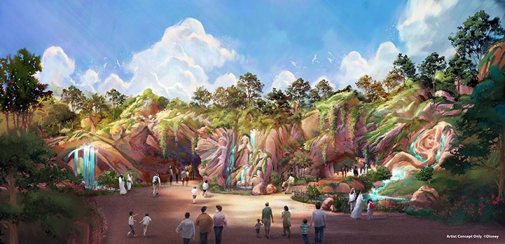 【2023年度】ファンタジースプリングスとは?ディズニーシーの新エリア情報まとめ!第8テーマポートの場所も!