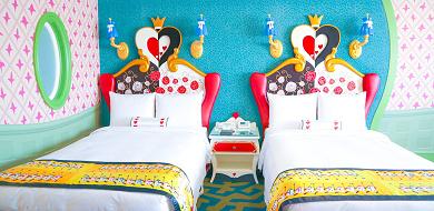 【宿泊レポ】ディズニーランドホテル「アリスルーム」に泊まってみた!客室フォトレビュー!
