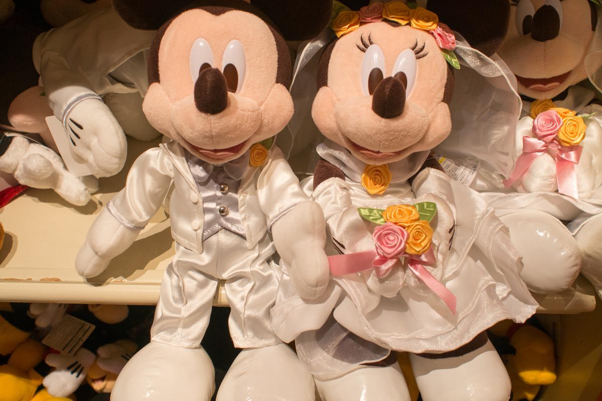 ウェディングミッキー&ミニー
