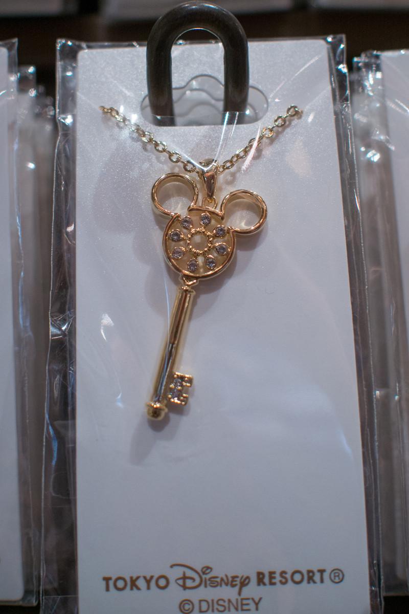 ミッキー鍵型ネックレス①