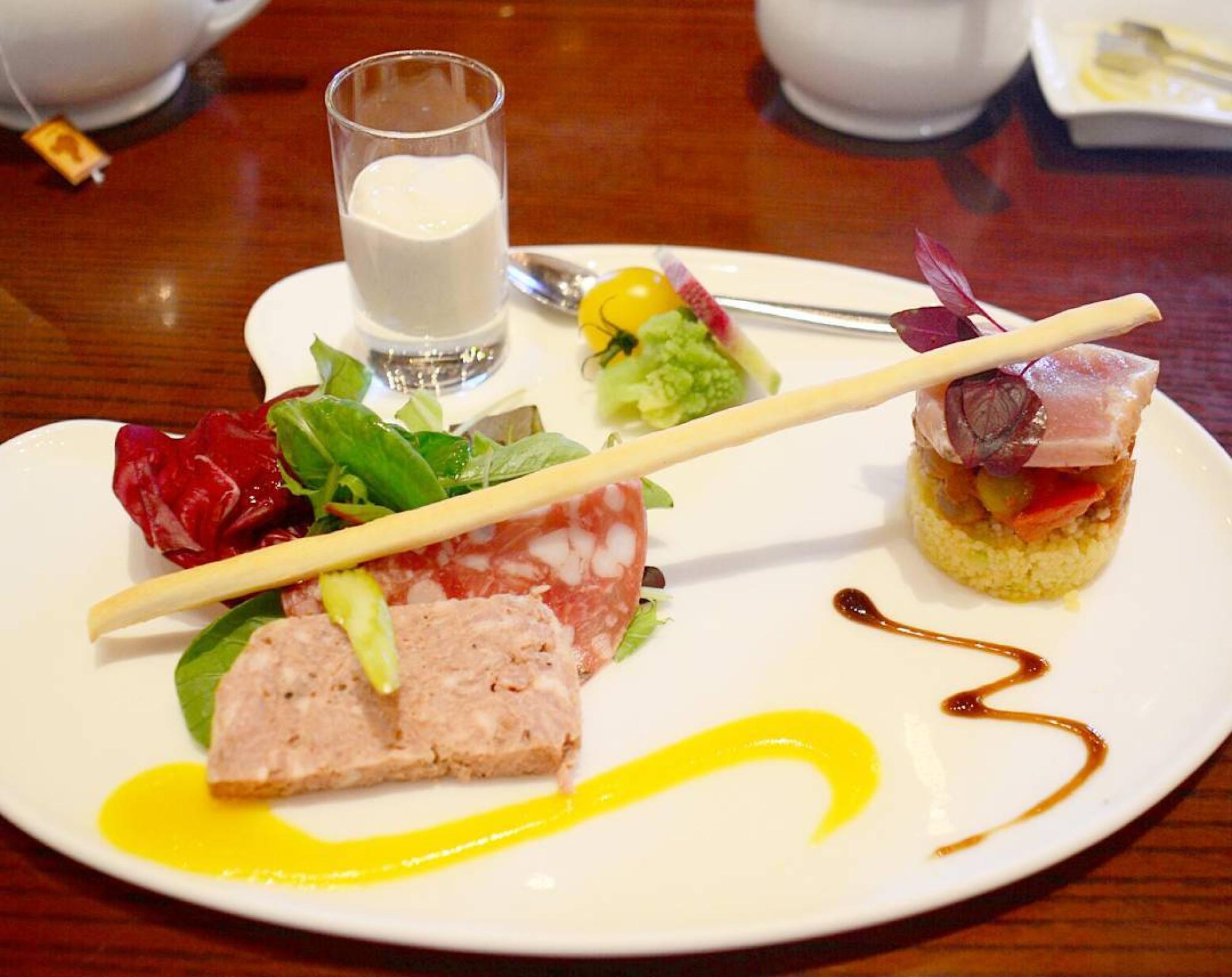 リストランテ・ディ・カナレットのメニューの一例(前菜)