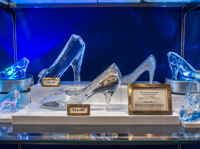 ディズニーシーのガラスの靴