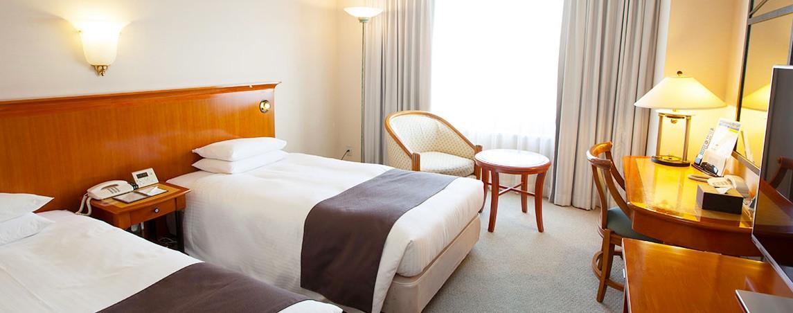 エレガントな客室ながらも低価格が人気のホテルイースト21