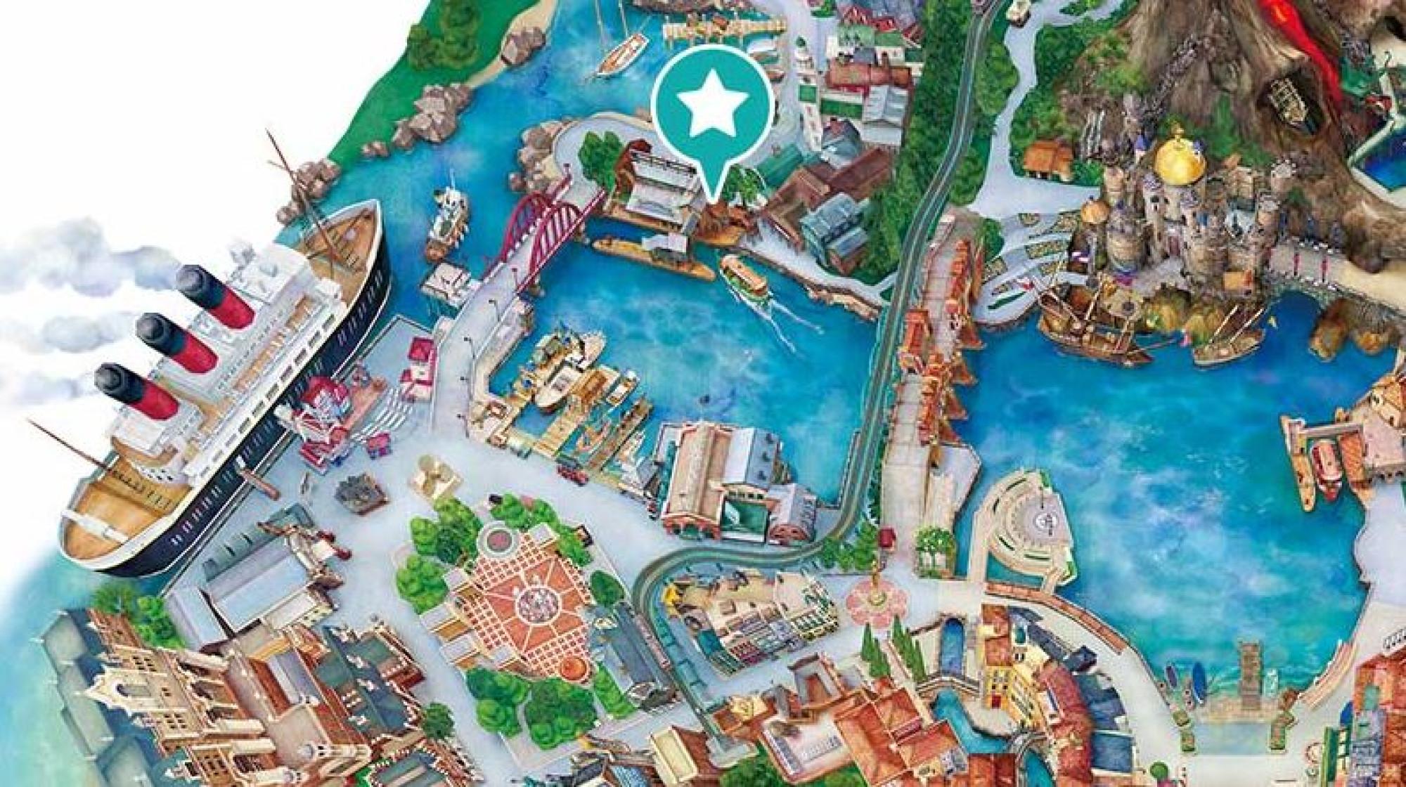「ヴィレッジ・グリーティングプレイス」の地図