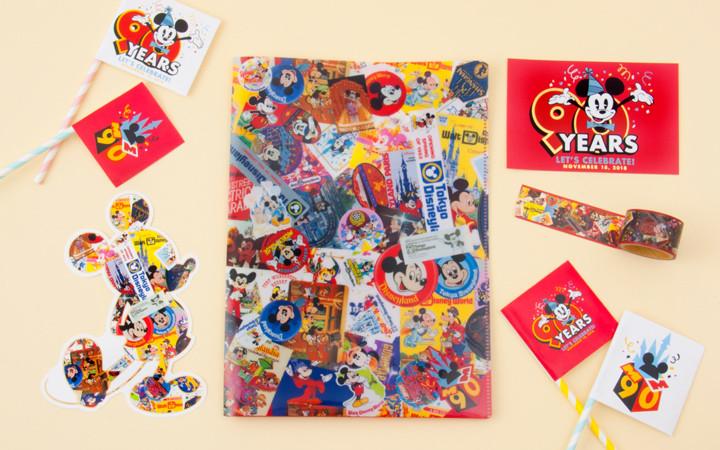 ミッキーマウス生誕90周年グッズ