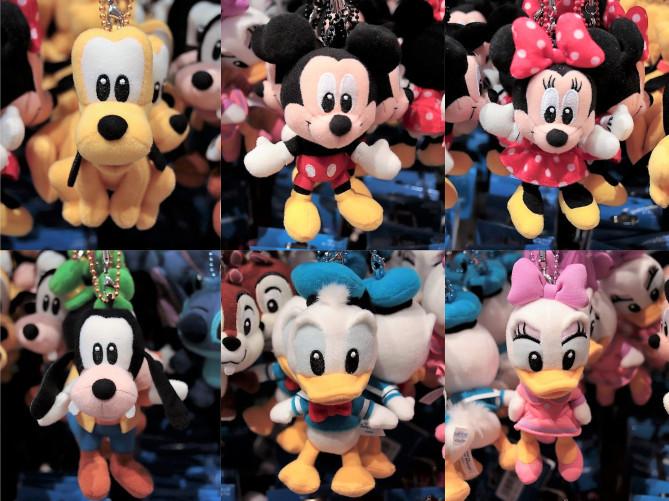 【7/2発売】ミッキー&フレンズのストラップキーチェーン10種類!シンプルかわいいお土産グッズ