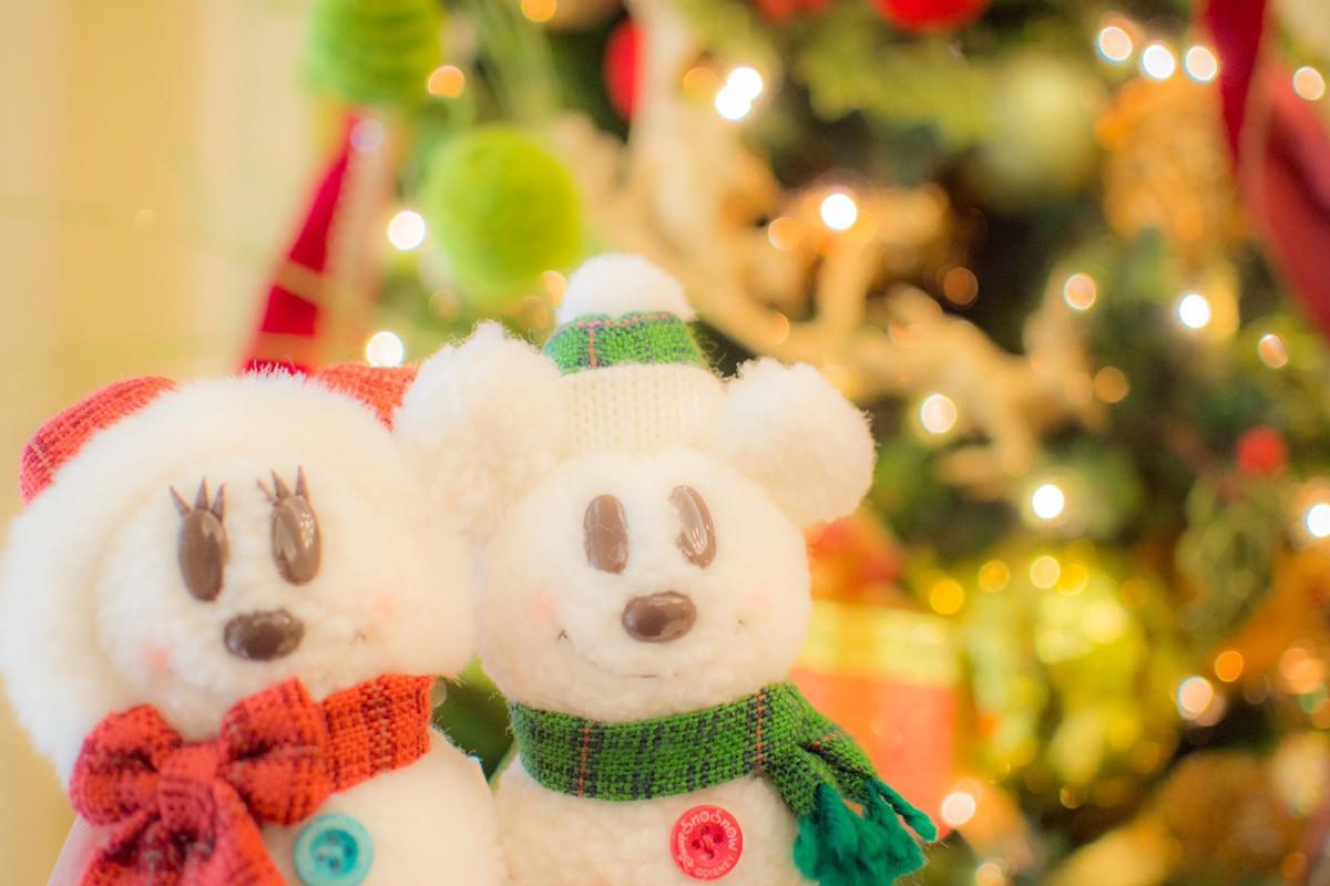 ディズニークリスマスグッズ2017「スノースノーメイクイットマイン」オリジナル雪だるまグッズを作ろう!