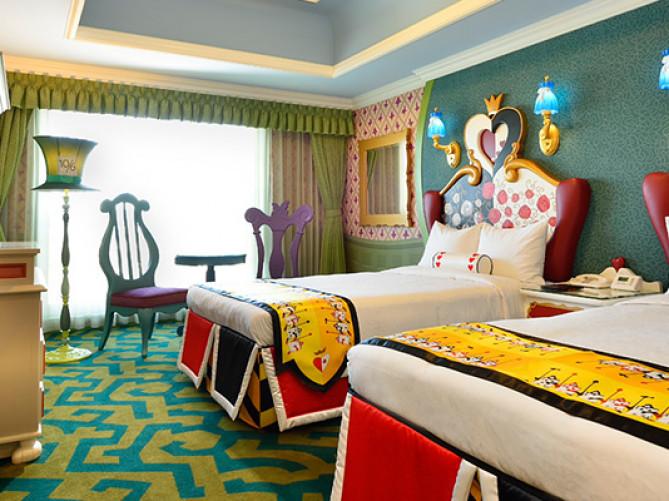 2019ディズニーランドホテルのキャラクタールーム4選美女と野獣