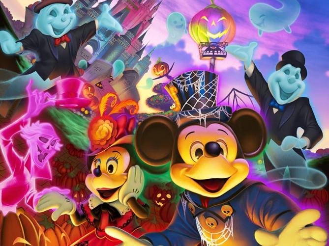 【最新】ディズニーハロウィーン2018お土産グッズ&ショーパレード情報!新テーマ「ゴースト」&Dハロ仮装!