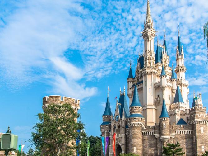 ディズニーの城シンデレラ城は世界に2つ東京ともう1つはどこ海外