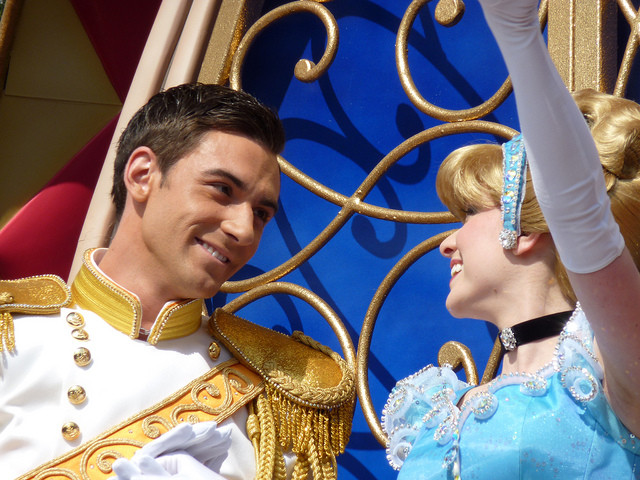 シンデレラとチャーミング王子