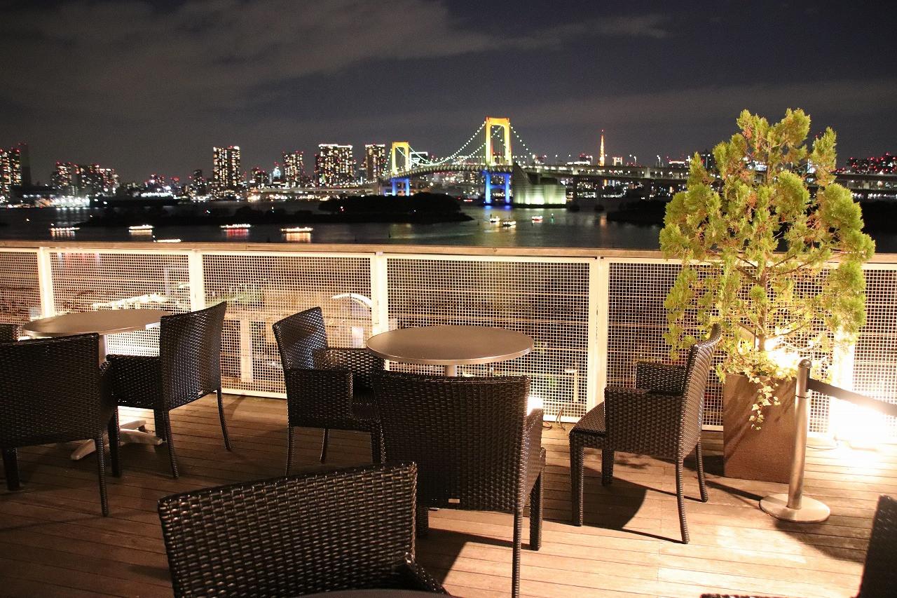 景色が一望できるカフェ