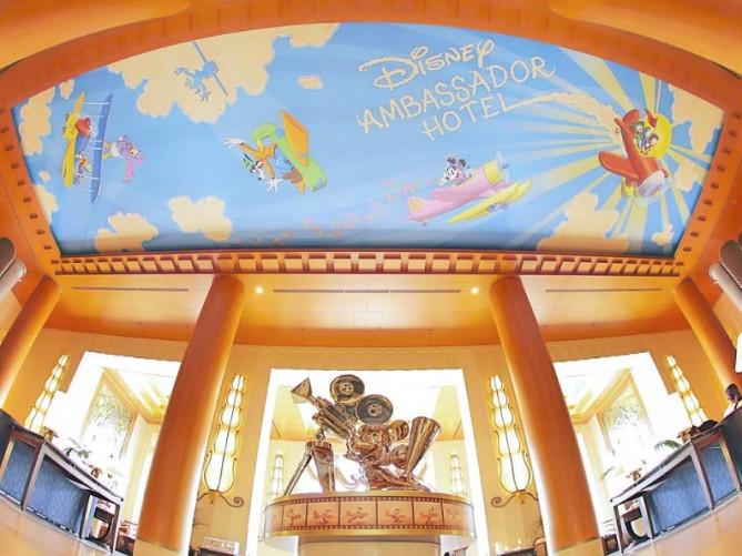 ディズニーホテルには、夢がいっぱいあふれてる!