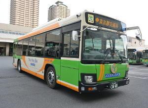 日本科学未来館に行く都営バス