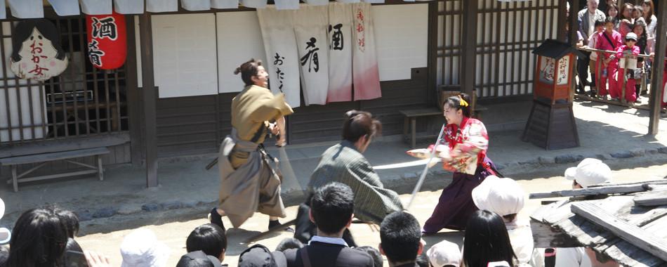 【京都】数々の名作を生んだ「太秦映画村」とは?チケット料金・アトラクション・ショー・アクセス方法!