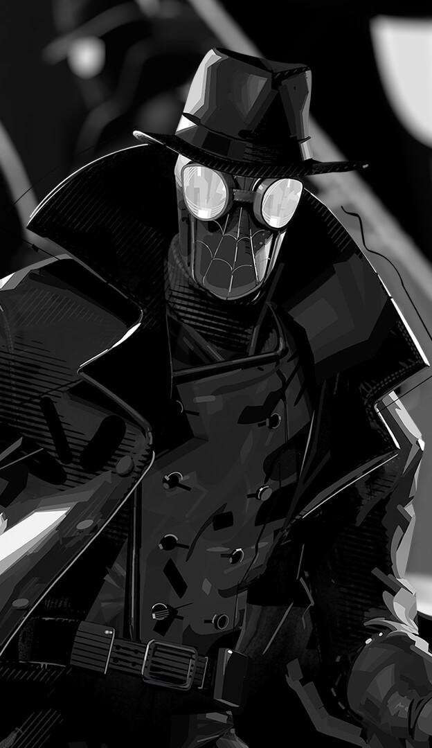 「スパイダーマン・ノワール」の画像検索結果