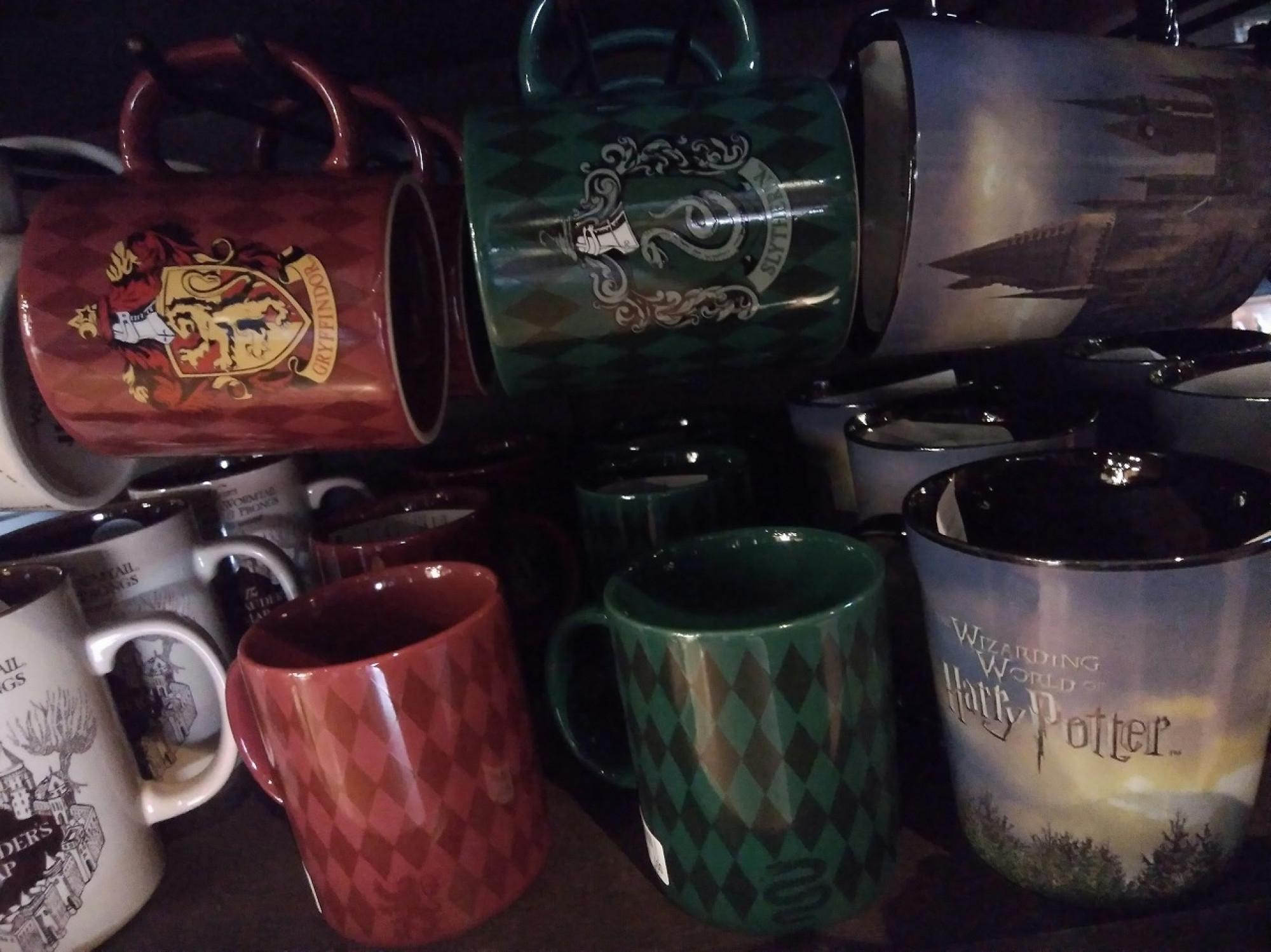 ハリーポッターのスリザリン寮マグカップ