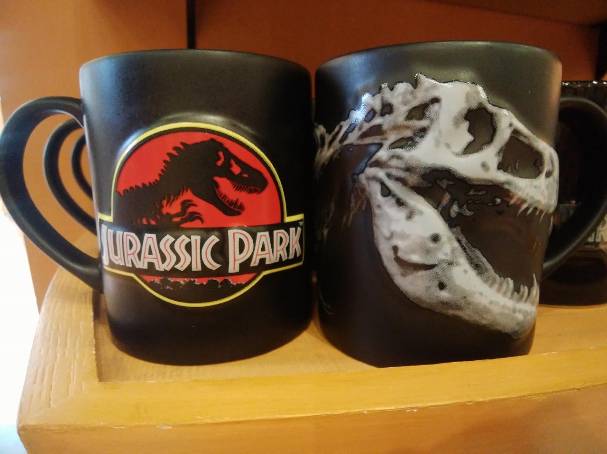ジュラシックパークの標本マグカップ