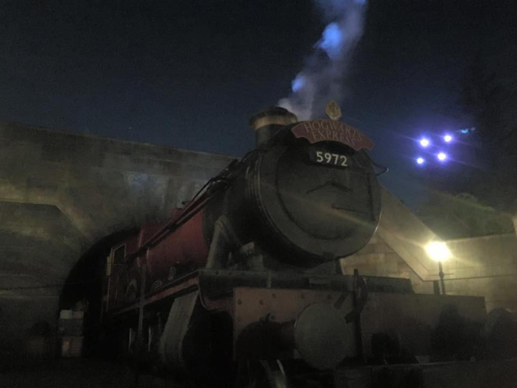 ユニバの夜の風景