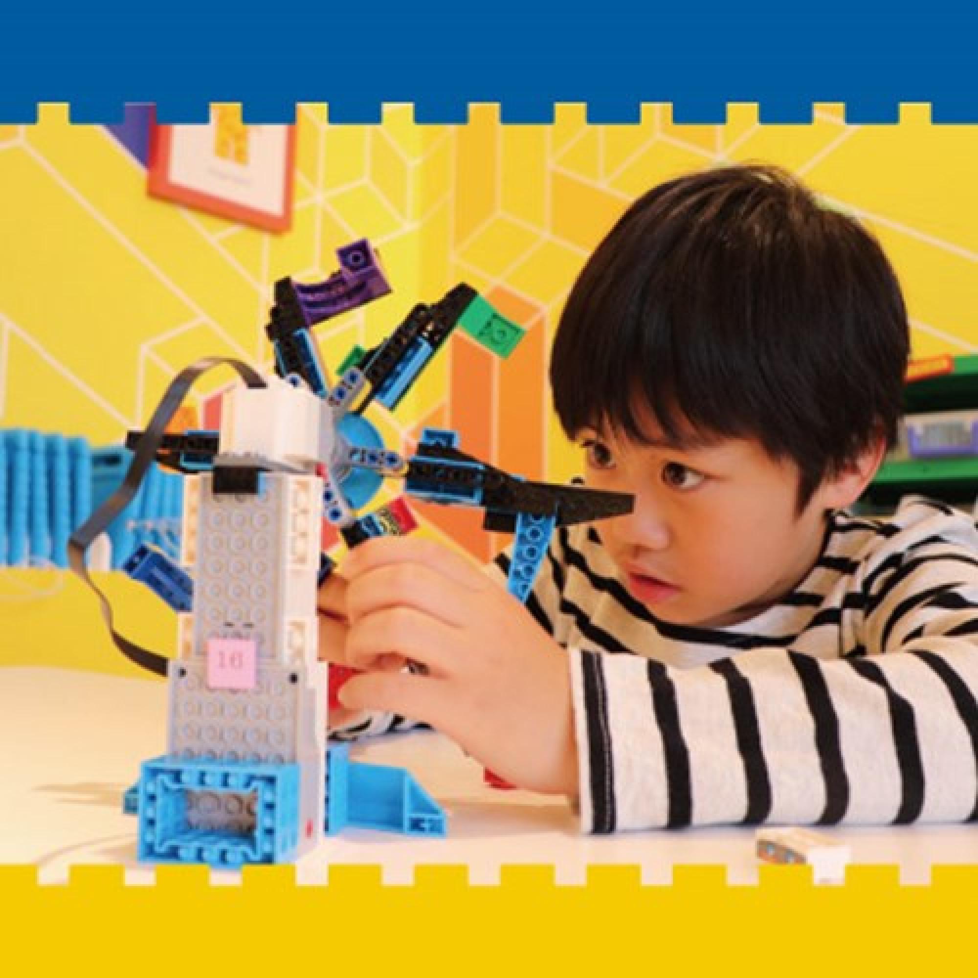 レゴ・ブロックの使ったロボットを組み立てよう!