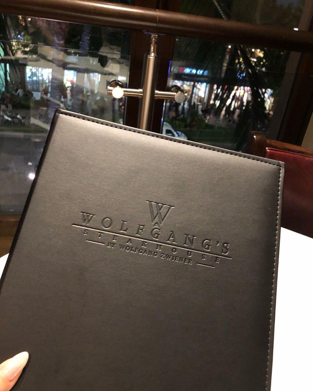 ウルフギャングステーキハウス・ワイキキのメニュー